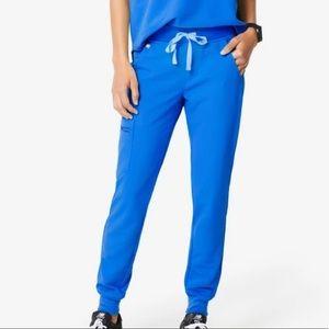 FIGS royal blue Zamora jogger